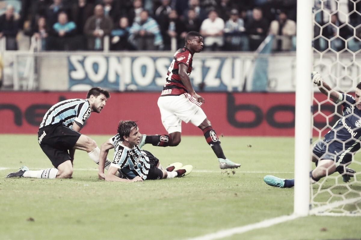 """Autor do gol de empate do Flamengo, Lincoln exalta trabalho duro: """"Fui abençoado"""""""