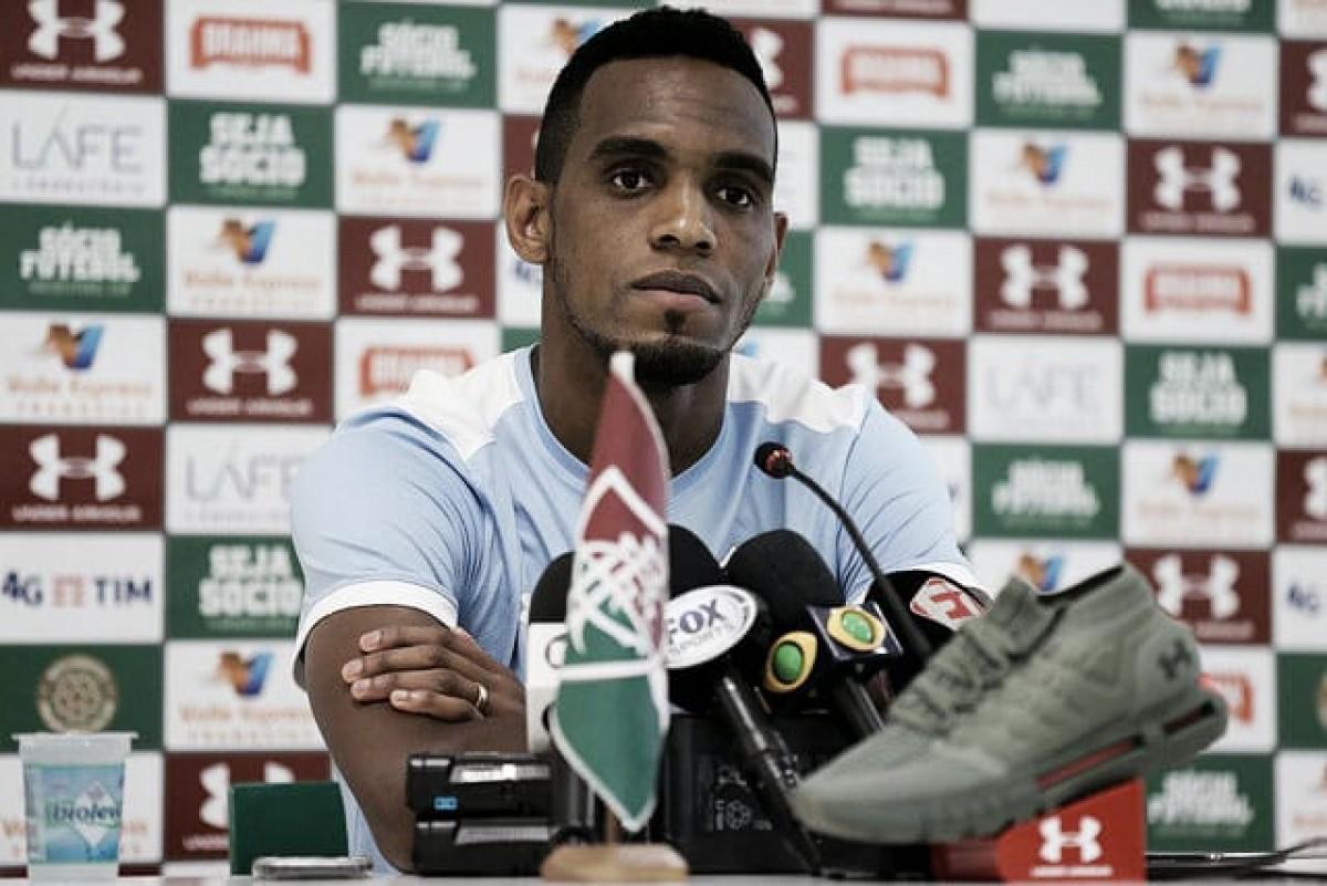 """Com gol em seu centésimo jogo pelo Fluminense, Digão espera conquistas: """"Quero ser lembrado"""""""