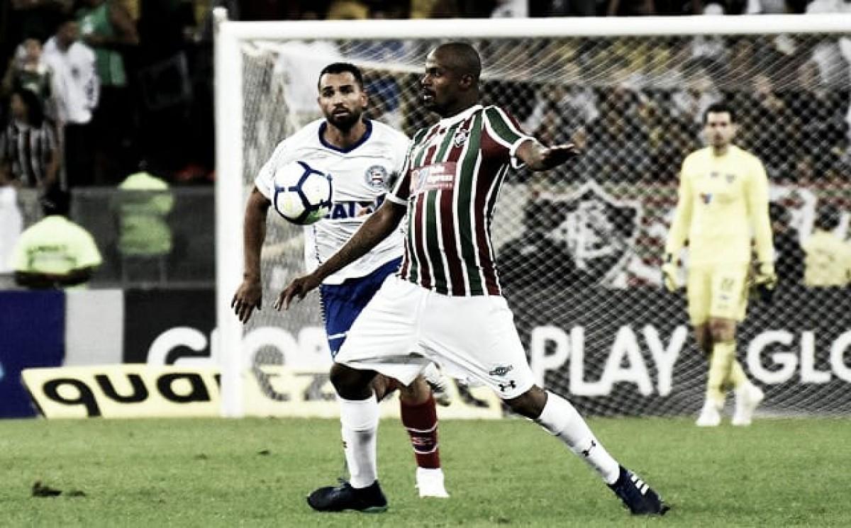 """Airton celebra titularidade no Fluminense: """"Feliz por ter jogado 90 minutos"""""""