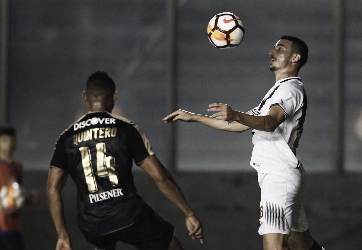 """Thiago Galhardo lamenta eliminação com vitória do Vasco: """"Gosto amargo"""""""