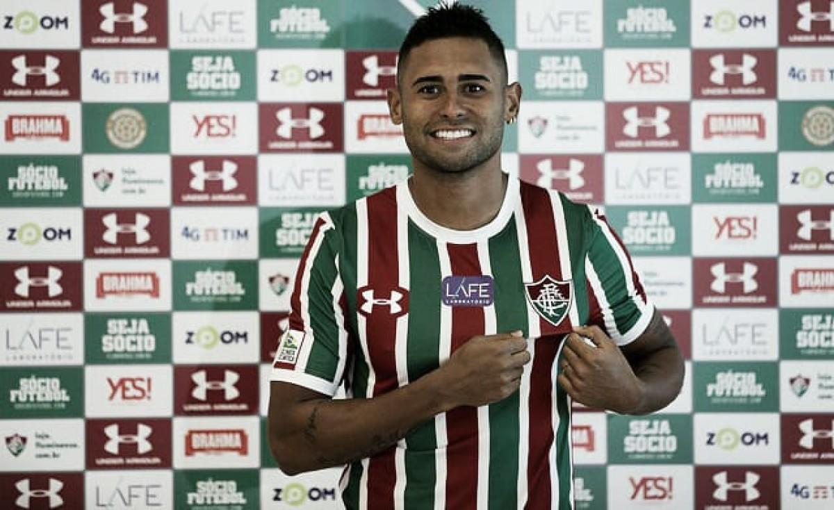 """Atacante Kayke é apresentado no Fluminense: """"Nasci Tricolor"""""""