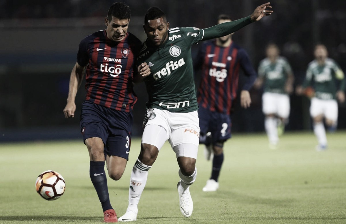 Palmeiras recebe o Cerro Porteñoem busca da classificação na Libertadores