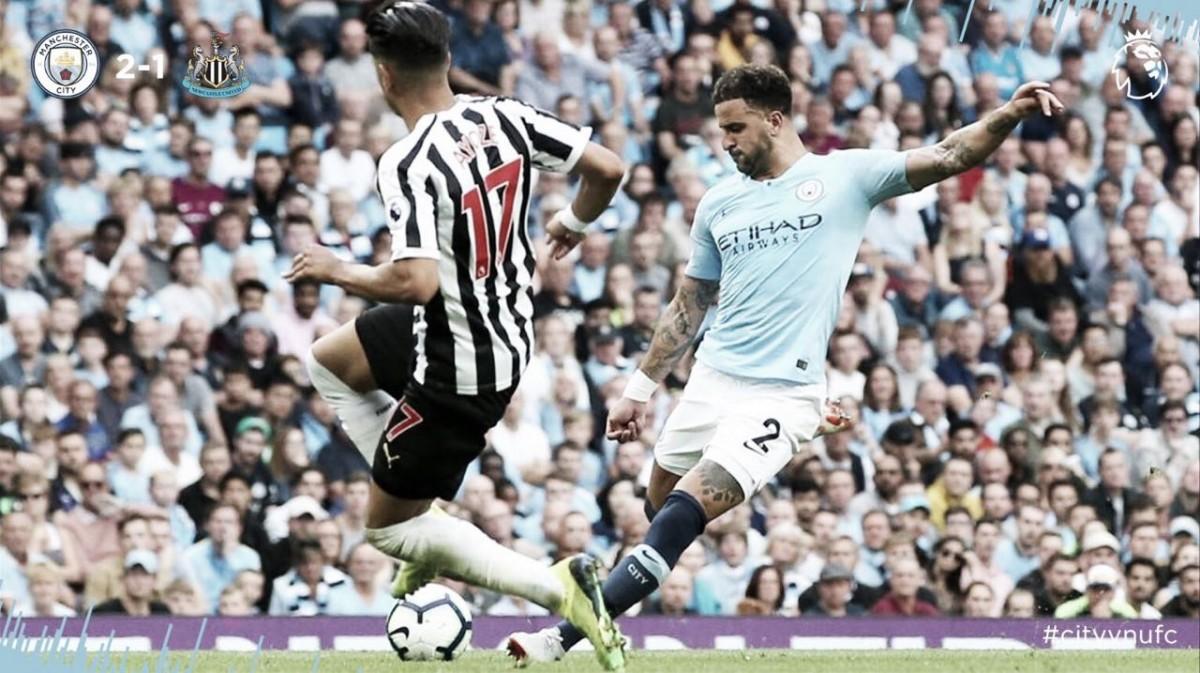 Manchester City derrota Newcastle e se recupera na Premier League
