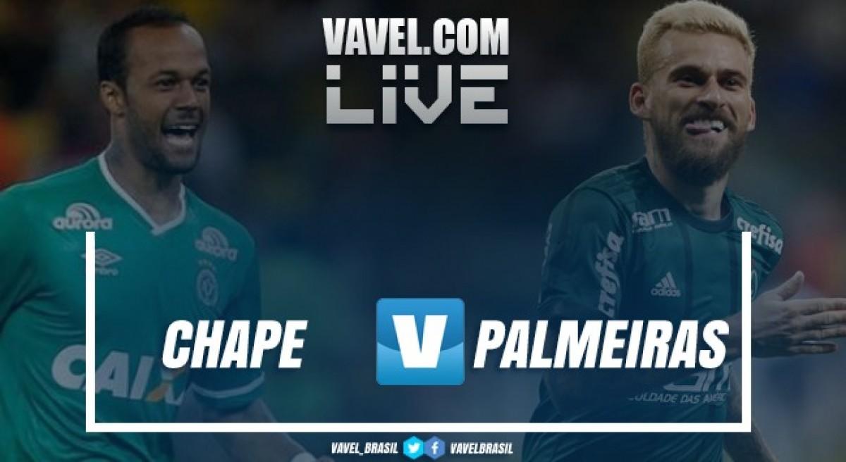 Jogo Chapecoense x Palmeiras ao vivo online pelo Campeonato Brasileiro 2018