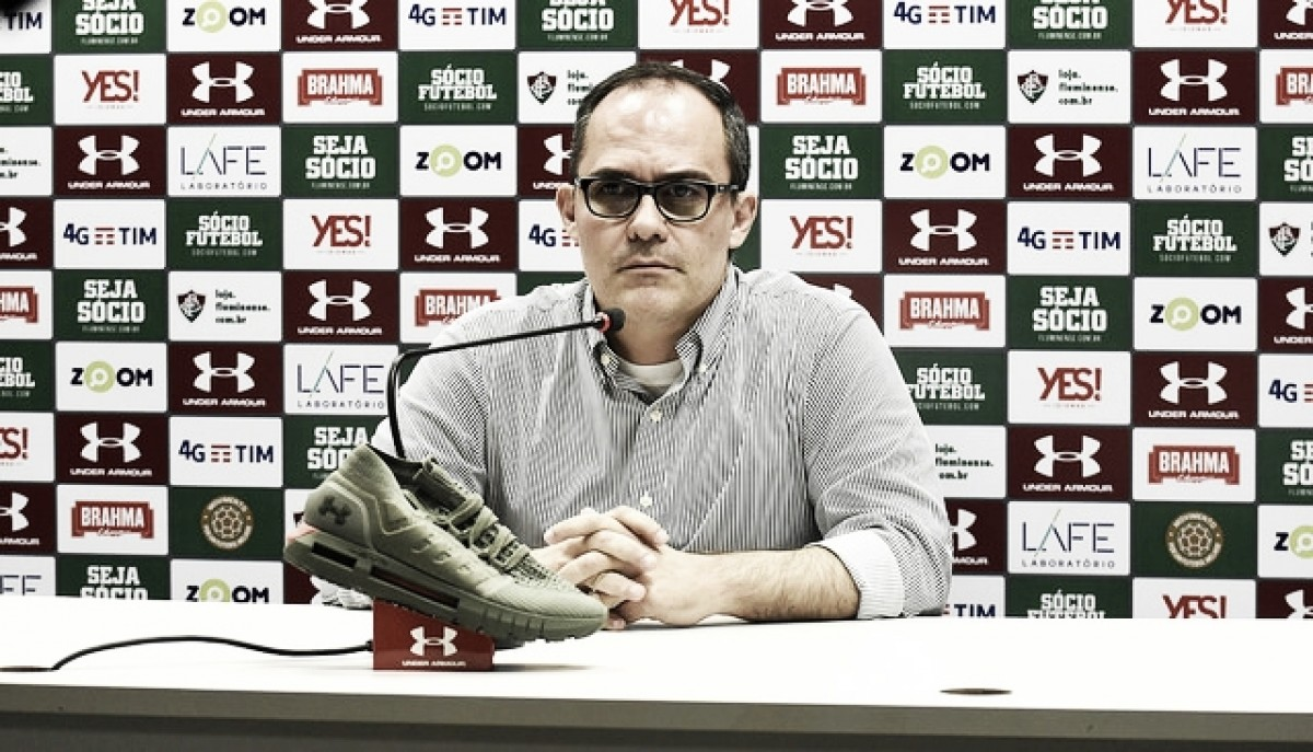 Pedro Abad reconhece momento ruim e pede apoio do torcedor: ''O Fluminense precisa de você''