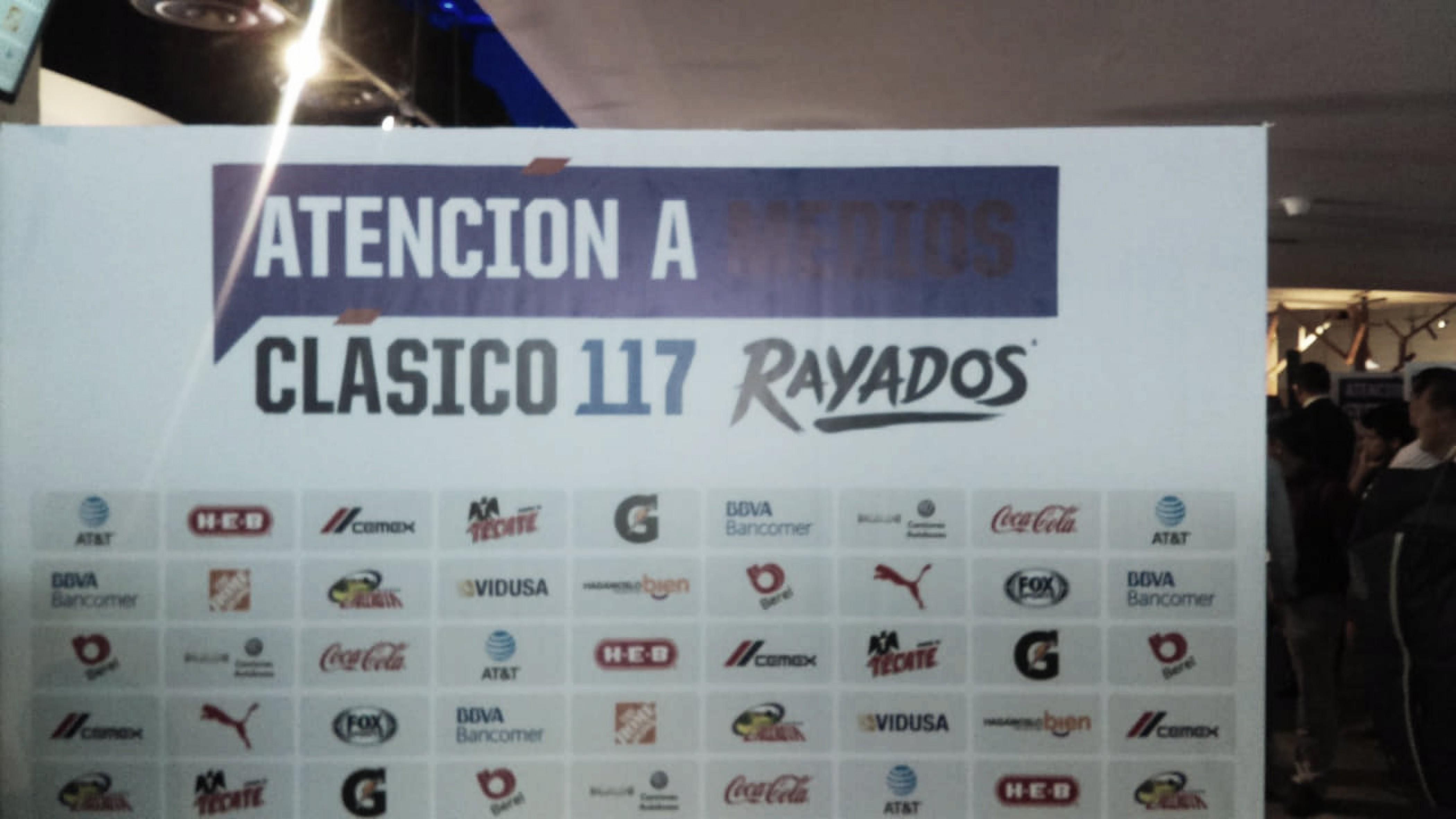 Rayados se declaró listo para el Clásico Regio