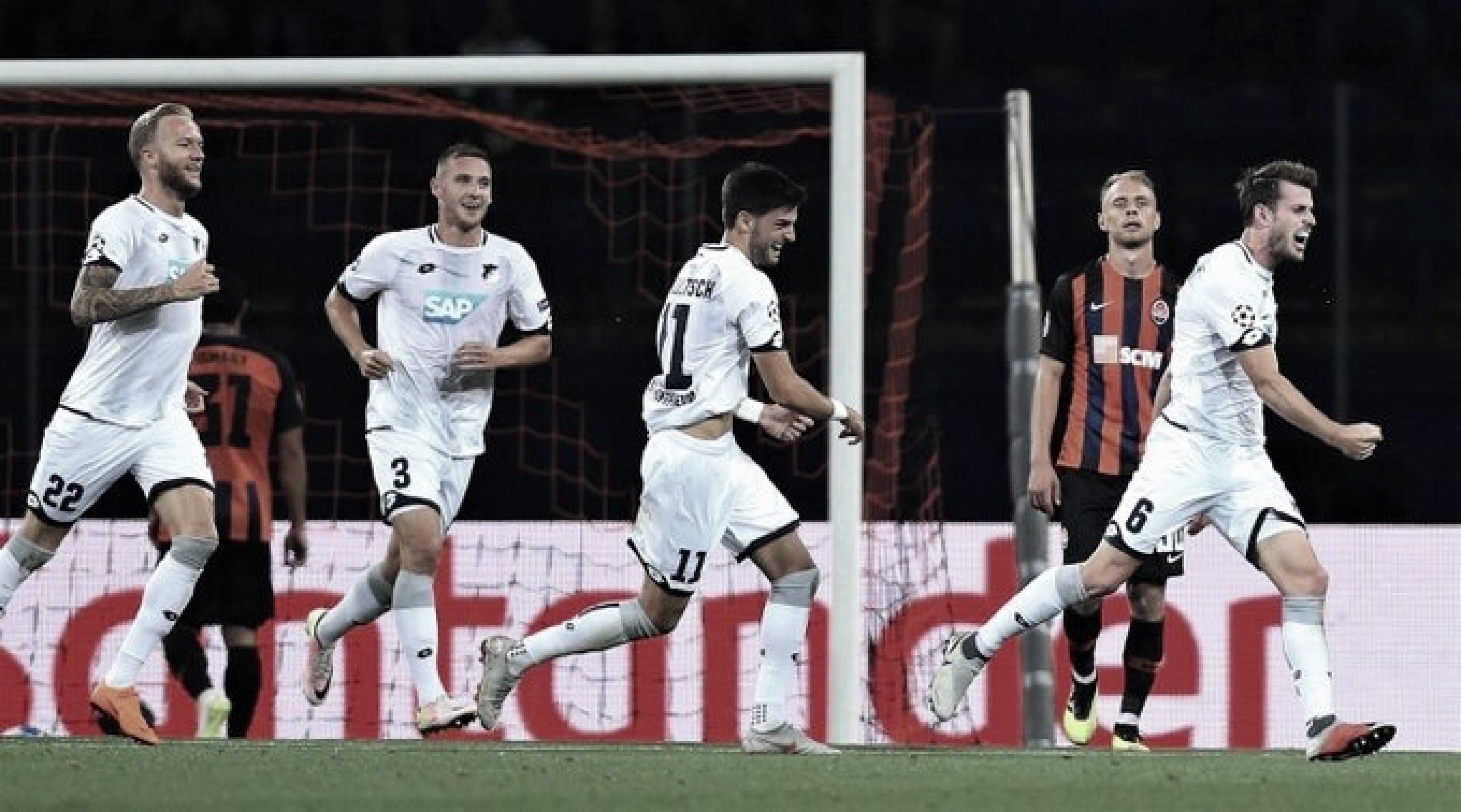 Com gols de brasileiros, Shakhtar empata com Hoffenheim na UEFA Champions League