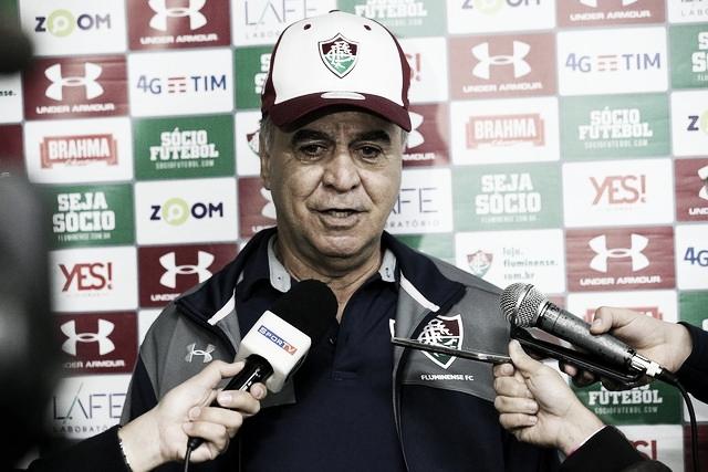 """Marcelo Oliveira comemora vitória do Fluminense mesmo com desgaste: ''Time jogou muito bem"""""""