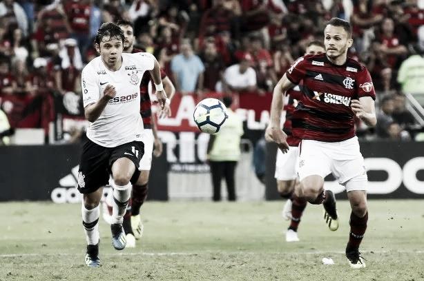 Buscando vaga na decisão da Copa do Brasil, Corinthians recebe o Flamengo na Arena