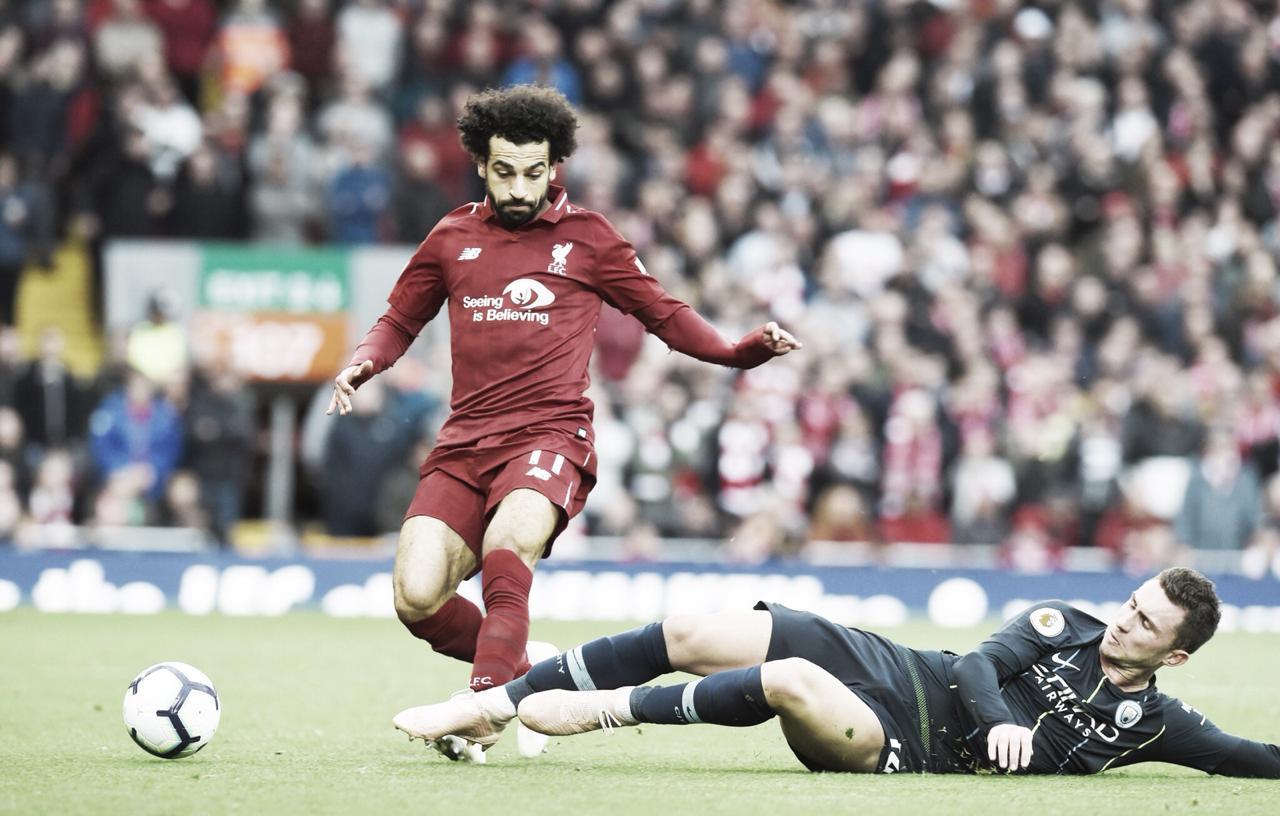 Pouco inspirados, Liverpool e Manchester City ficam no empate sem gols