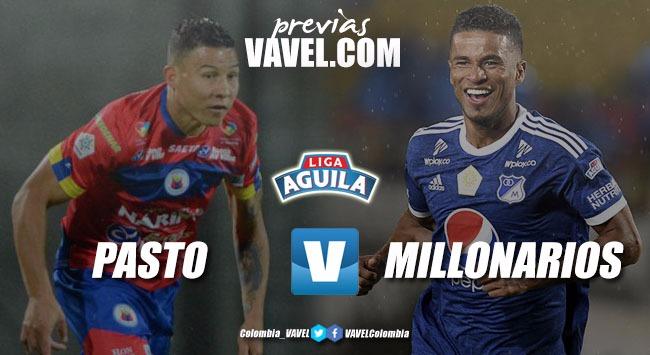 Previa Deportivo Pasto vs Millonarios: equipos en crisis
