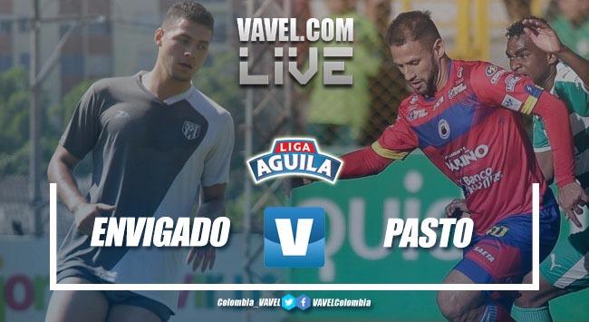 Envigado FC vs Deportivo Pasto en vivo y en directo online por la Liga Águila (1-0)