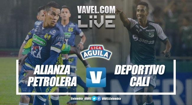 Alianza Petrolera vs Deportivo Cali en vivo por la Liga Águila (2-0)