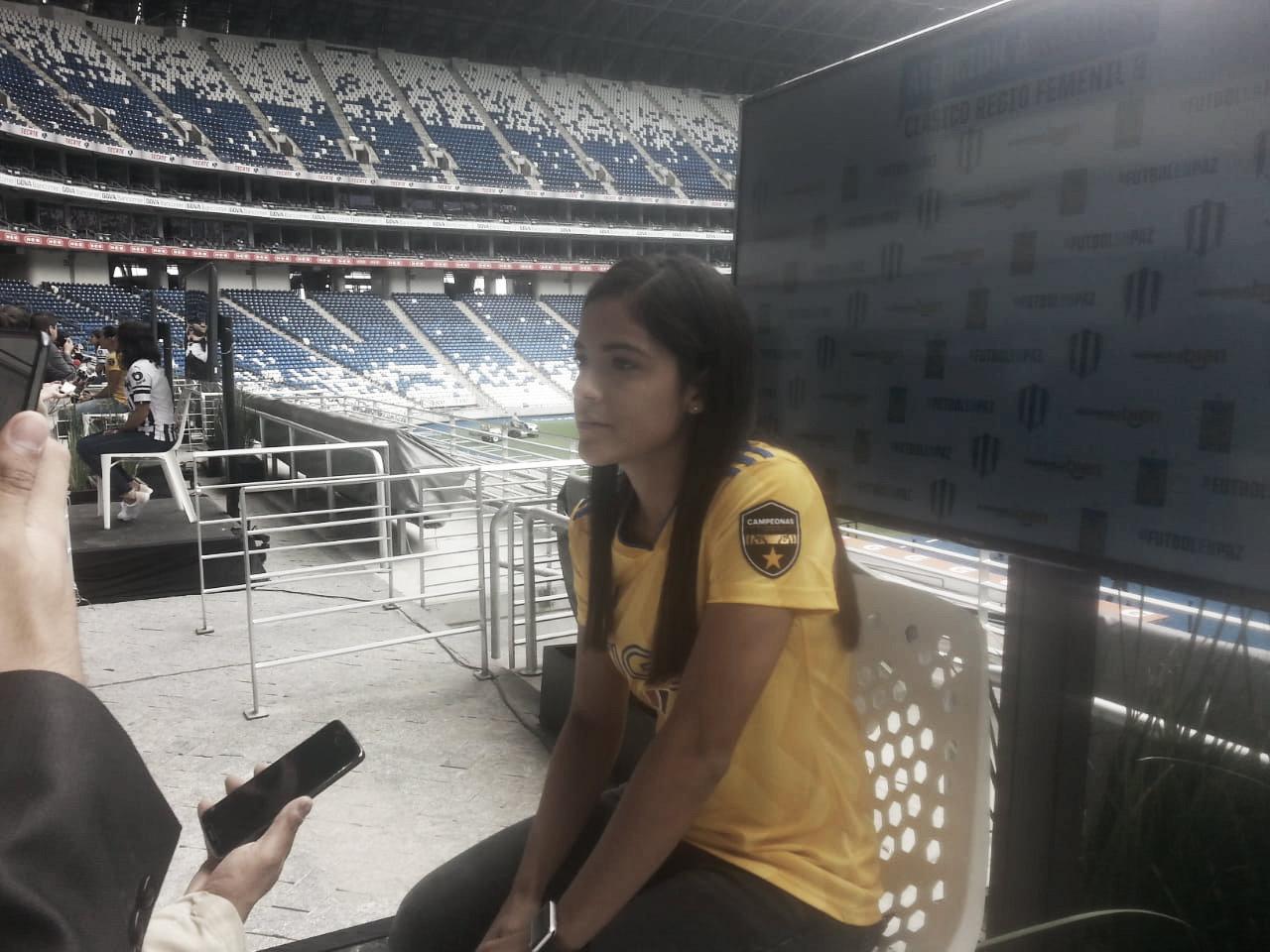 """Cristina Ferral: """"Es de reconocerse que ambos equipos no hemos perdido"""""""