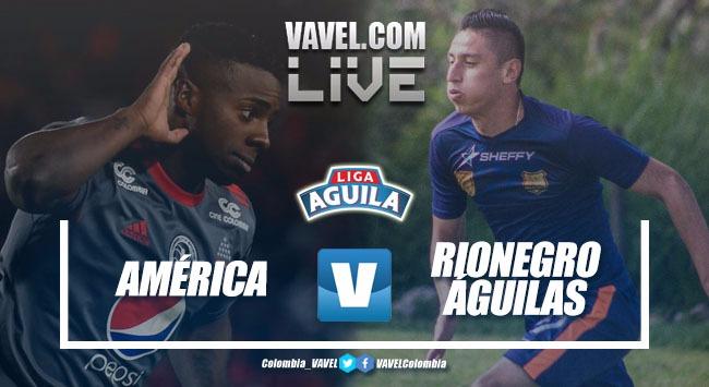 Resultado América vs Rionegro Águilas por la Liga Águila 2018-II (2-1)