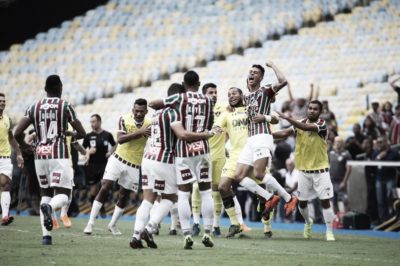 Fluminense vence o América-MG, encerra jejum e garante a permanência na Série A
