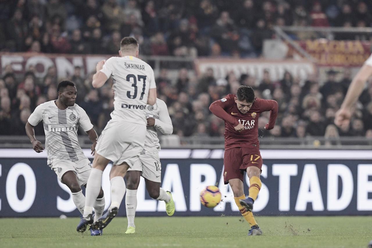 Roma e Inter empatam em clássico movimentado