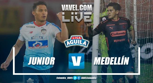 Resumen Junior vs Medellín (4-1) por la final de la Liga Águila