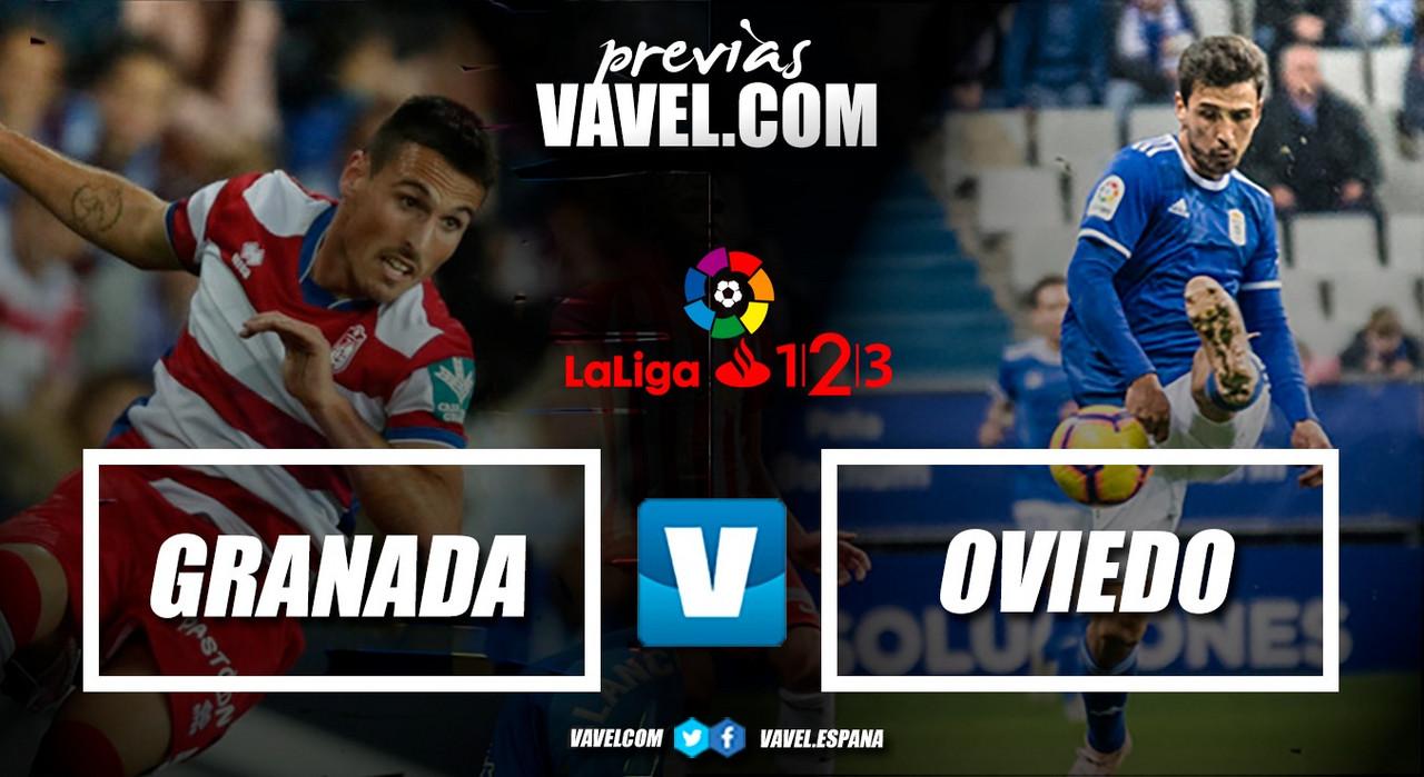 Previa Granada CF - Real Oviedo: el líder vuelve a su fortín