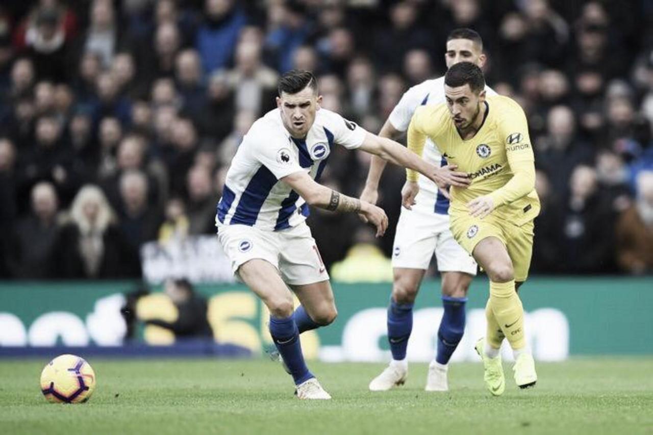 Chelsea passa sufoco no final, mas bate Brighton na Premier League