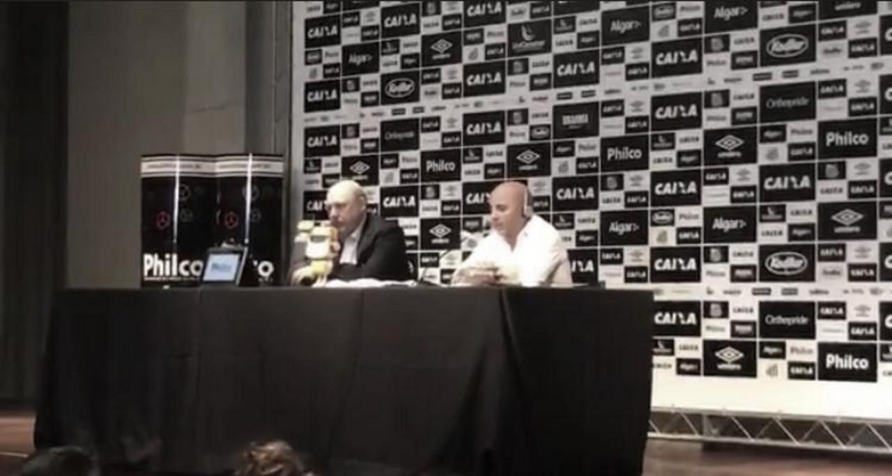 """Sampaoli é apresentado no Santos: """"Desafio mais importante da minha carreira"""""""