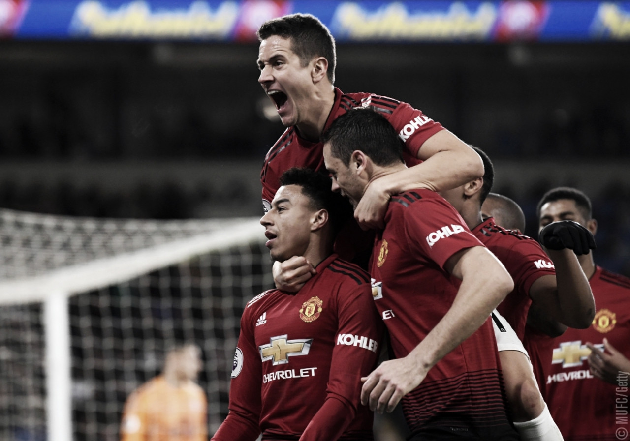 Na estreia de Solskjaer, Manchester United passeia sobre Cardiff pela Premier League