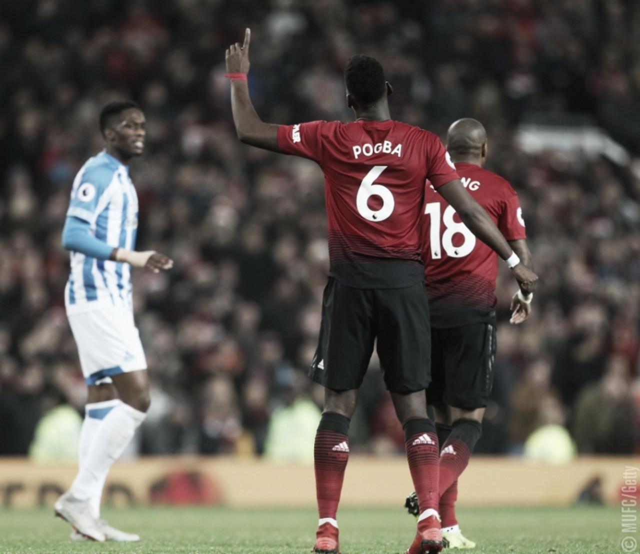 Na volta de Solskjaer ao Old Trafford, United joga bem e vence Huddersfield com tranquilidade