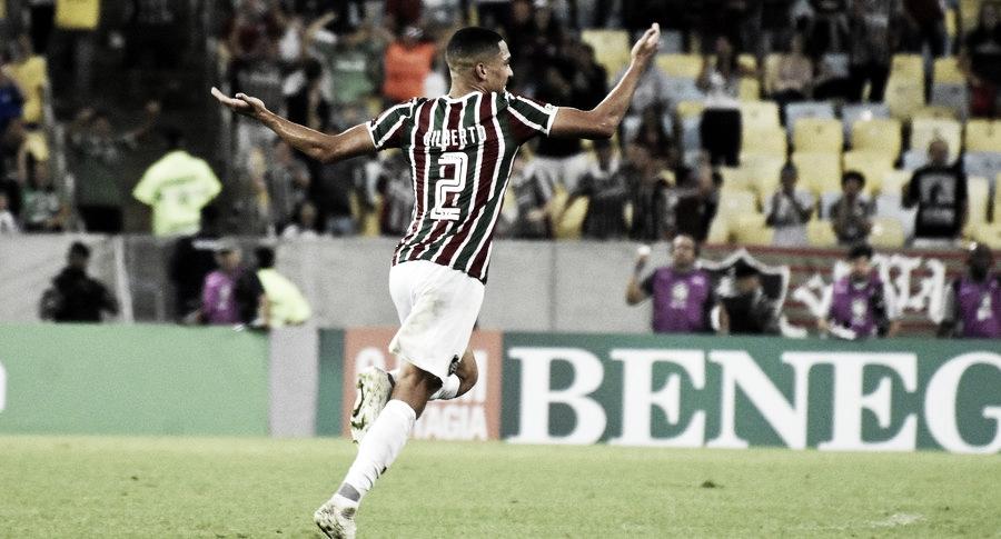 Fluminense anuncia permanência de Gilberto