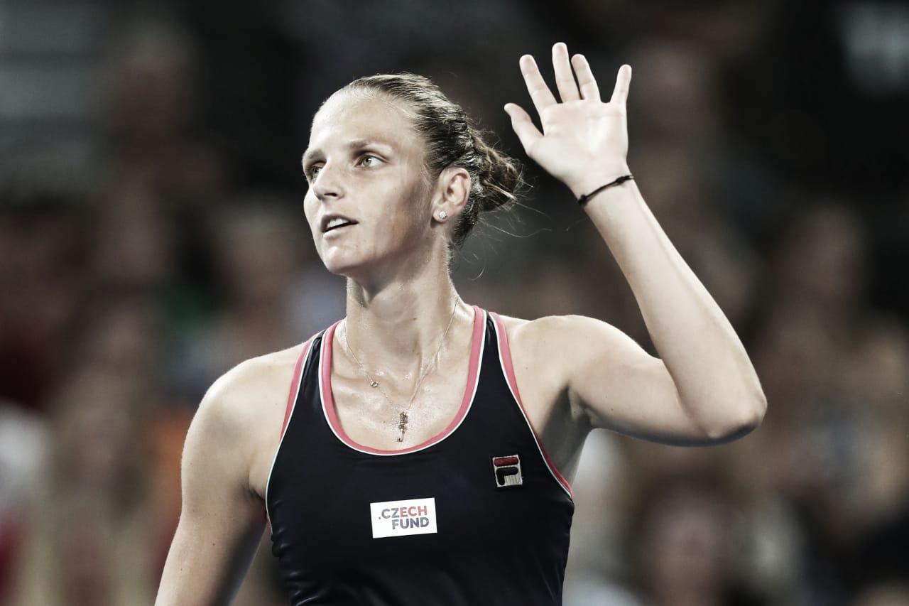 Pliskova domina Vekic e retorna à decisão de Brisbane