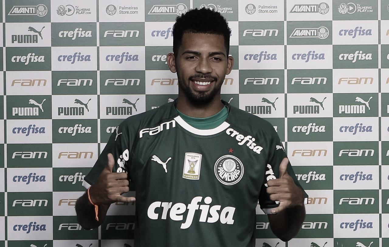 """Matheus Fernandes espera forte concorrência no Palmeiras, mas frisa: """"Disputa sadia pela posição"""""""