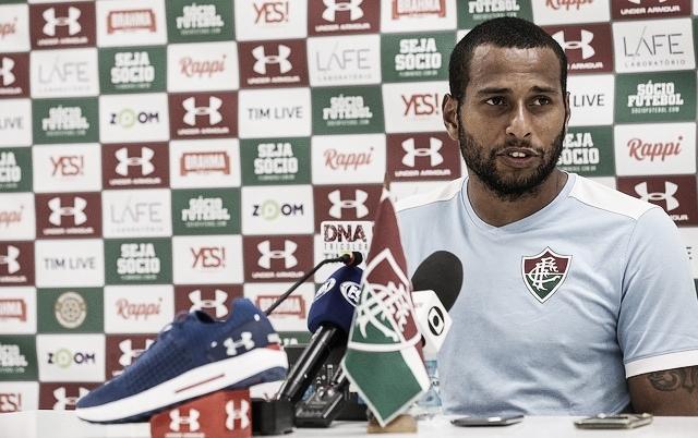 """Agora titular do Flu, Rodolfo afirma: """"Vou retribuir a confiança dentro de campo"""""""