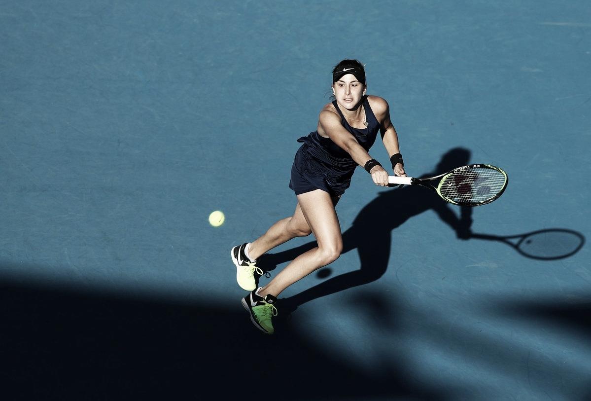 Bencic vence encontro com Siniakova e avança no Australian Open