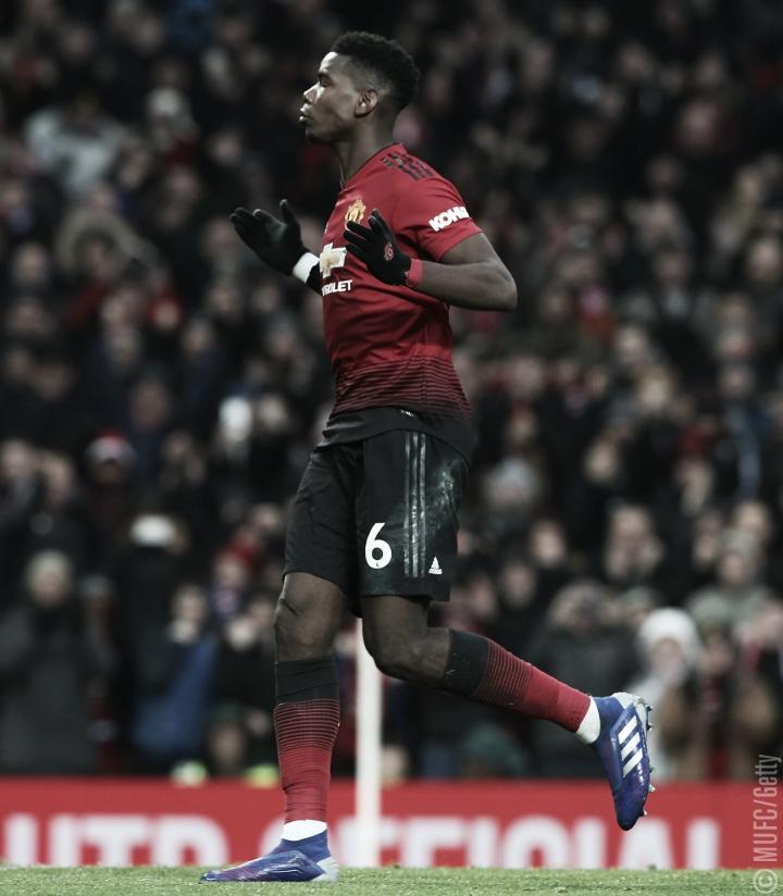 Em jogo disputado, Manchester United se impõe em casa e derrota o Brighton