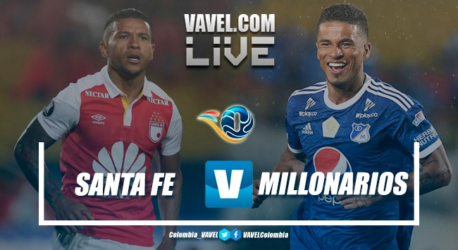 Santa Fe vs Millonarios EN VIVO hoy en final del Torneo Fox Sports