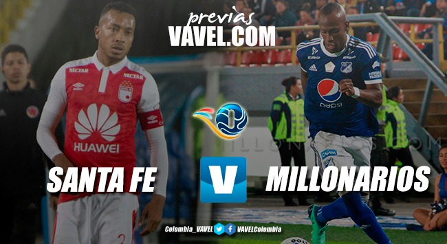 Previa Santa Fe vs Millonarios: una nueva final capitalina