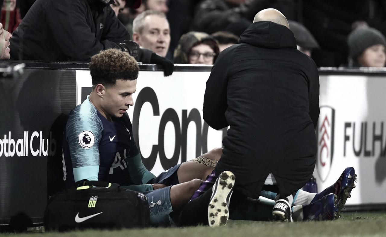 Com lesão confirmada, Tottenham fica sem Dele Alli até março