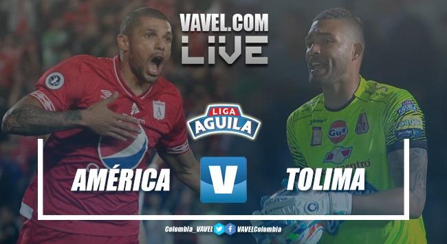 Resumen América de Cali vs Deportes Tolima por la Liga Águila 2019-I (3- 1)