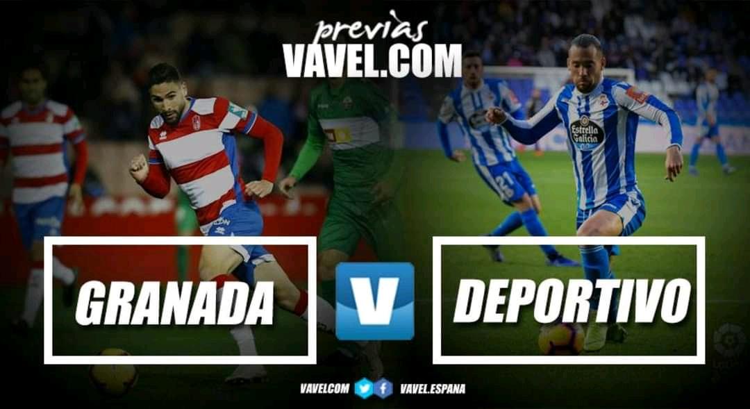 Previa Granada CF - RC Deportivo: las mejores galas se sacan en Granada