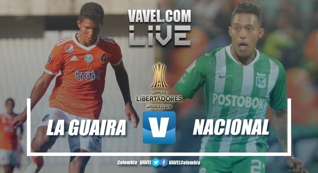 Deportivo La Guaira vs Nacional EN VIVO online por Copa Libertadores 2019