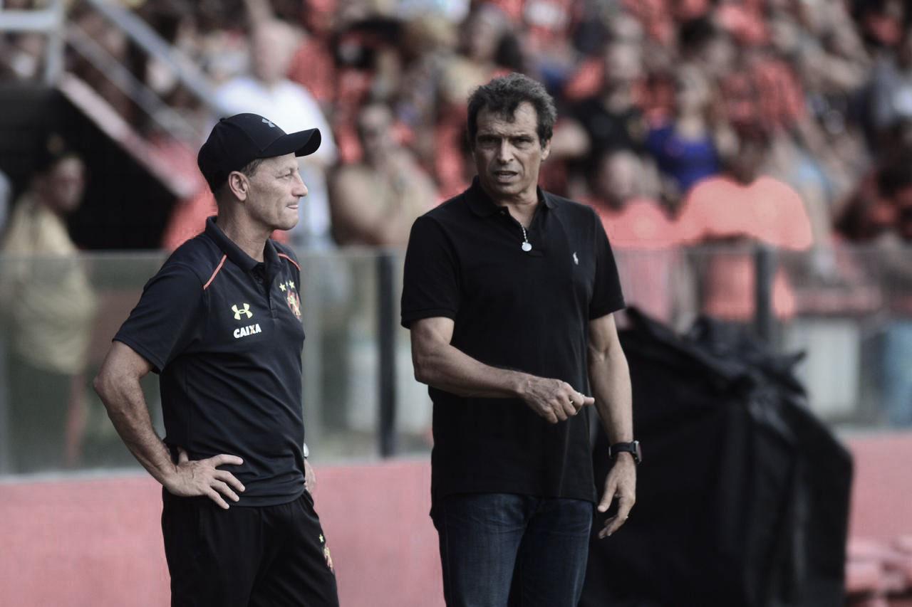 """Milton Cruz lamenta erros no ataque em eliminação precoce do Sport: """"Pecamos nas finalizações"""""""