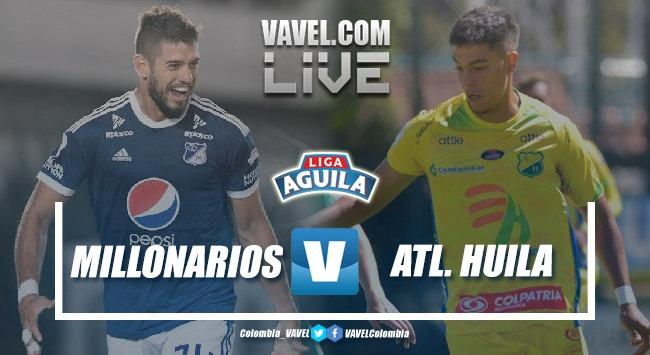 Resumen Millonarios vs Huila por la Liga Águila 2019 (3-2)