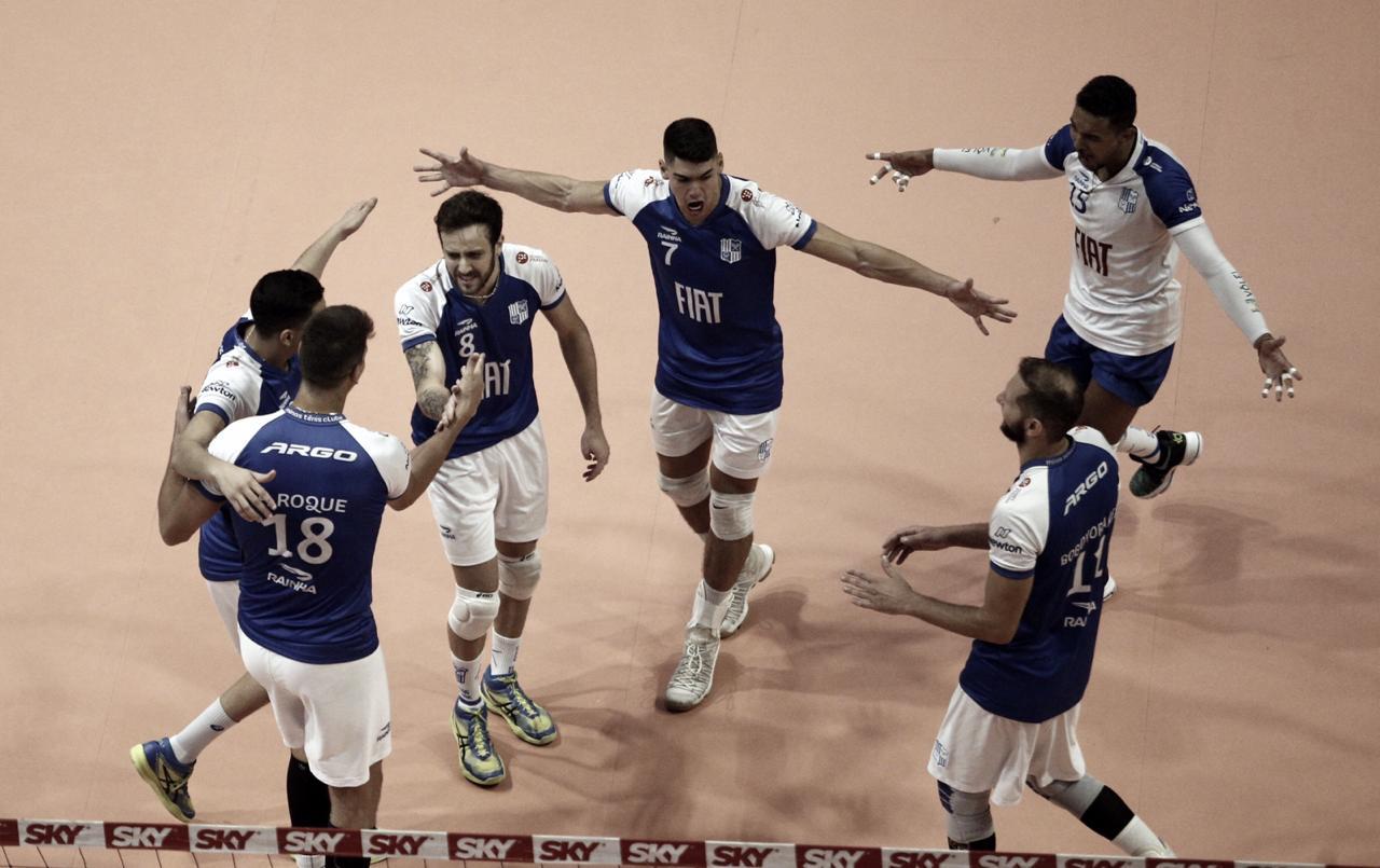 Com boa performance, Minas derrota Sesc-RJ pela Superliga