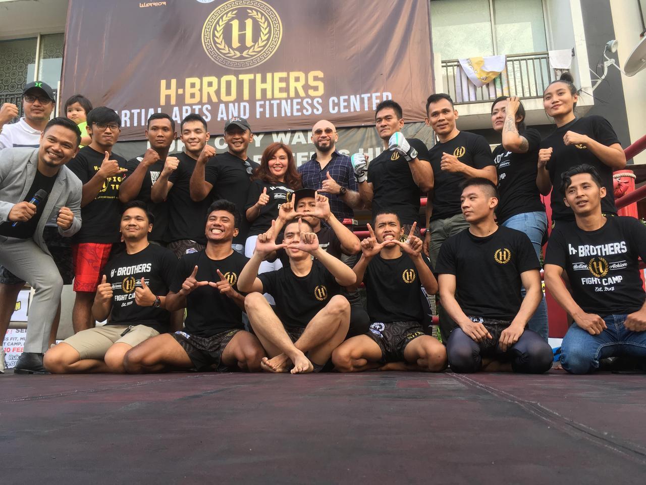 H-Brothers Bertekad Cetak Petarung Profesional