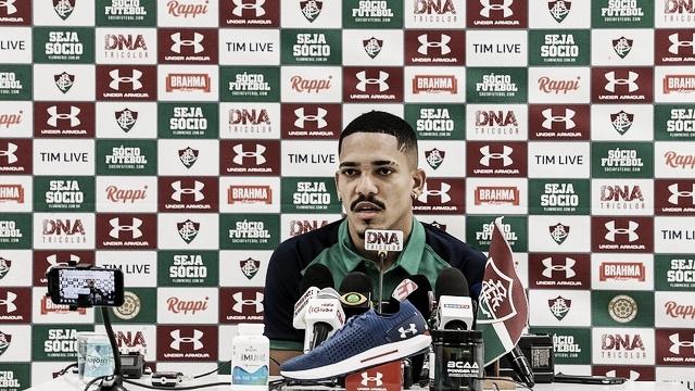 """De volta após lesão, Gilberto traça meta no Fluminense: """"Trabalhar para ser o meu melhor ano"""""""