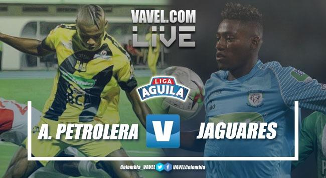 Resumen Alianza Petrolera vs Jaguares de Córdoba por la Liga Águila 2019-I (1-1)