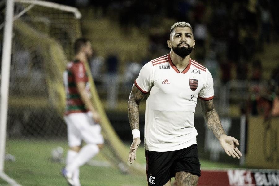 Sem dificuldades, Flamengo bate a Portuguesa-RJ em Volta Redonda