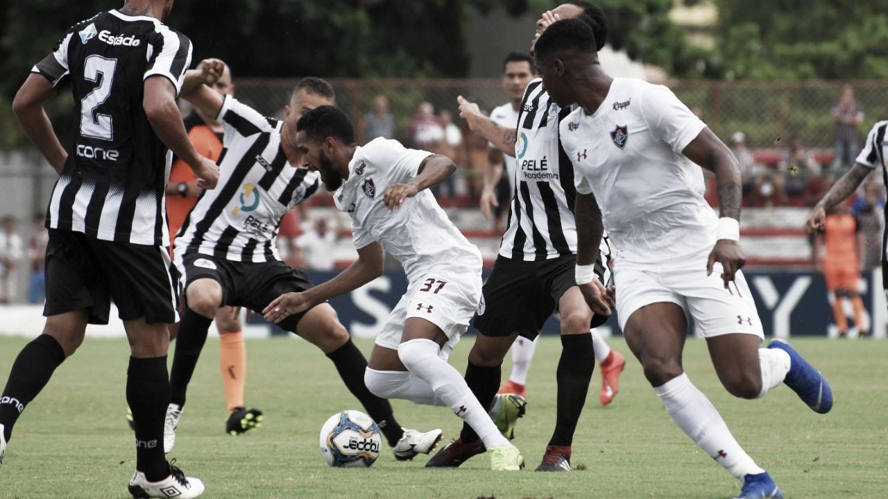 Fluminense não brilha e fica apenas no empate com Resende pela Taça Rio