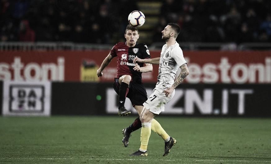 Cagliari define no primeiro tempo e vence Inter de Milão pelo Campeonato Italiano