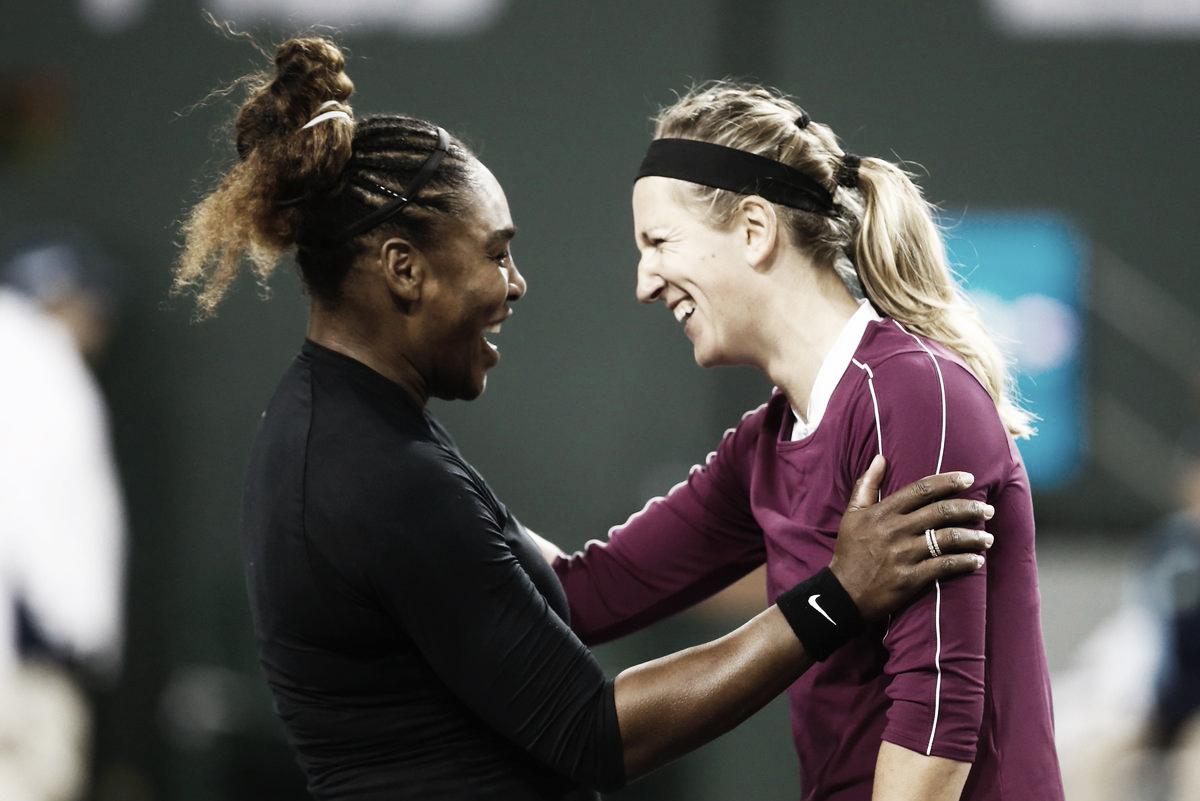 Serena vence jogaço contra Azarenka em Indian Wells e avança para enfrentar Muguruza