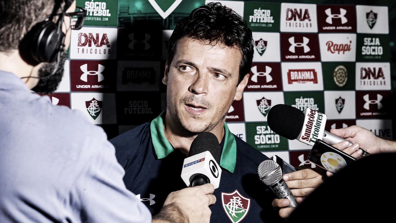 """Fernando Diniz analisa vitória sobre Boavista: """"Fiquei contente com o desenvolvimento"""""""